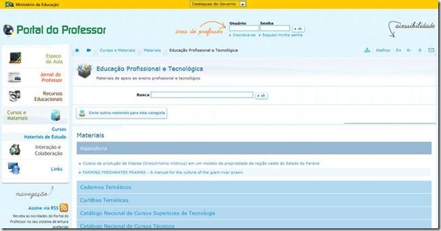 Portal do Professor - MEC