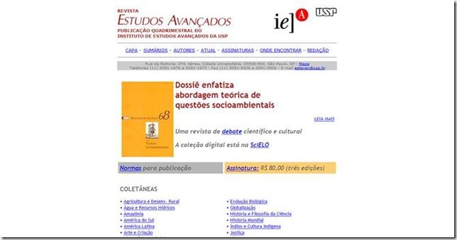 Revista Estudos Avançados da USP