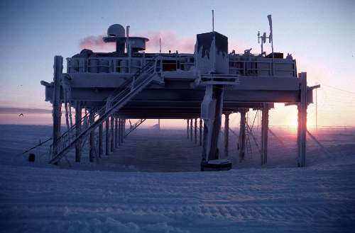 Halley at the close of winter