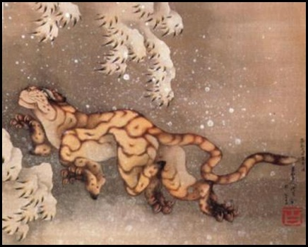Vecchia-tigre-nella-neve-Katsushika-Hokusai-33349