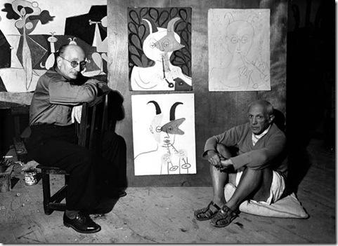 Gyula Halász Picasso y Sabartes