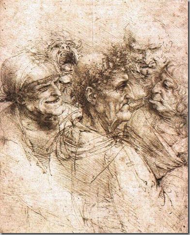 Leonardo Da Vinci Dibujos (8)