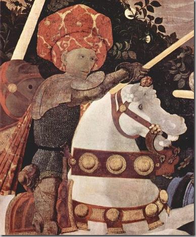 Paolo Uccello Batalla de San Romano detalle