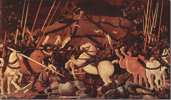 Paolo Uccello Batalla de San Romano