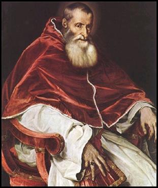 Tiziano - Pablo III