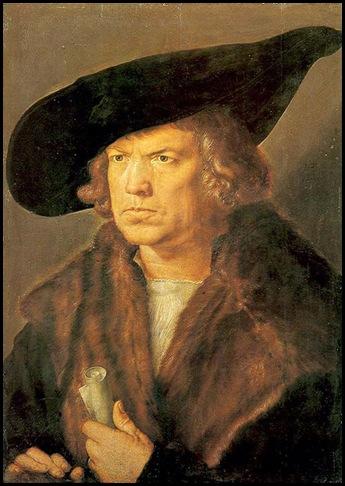 Durero Retrato de hombre 1524