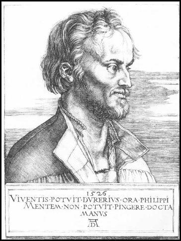 Durero - Melanchton 1526