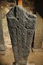 Kilbarr Stone (replica), Cille Barra, Freecamping Hebrides