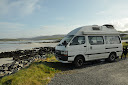 Freecamping at Eoligarry Jetty, Barra, Hebrides