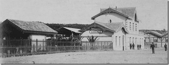 Cascais Estação (inauguração) 1889