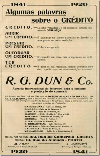 1920 Crédito