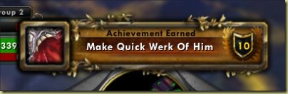 Accidental achievements = Win!