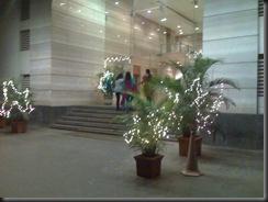 The entrance to Leela Business Park