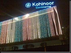 The Kohinoor Building on Andheri-Kurla road