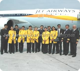 Working in Jet Airways
