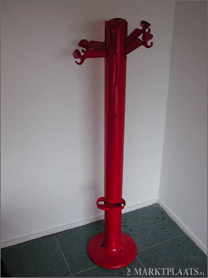 Planta coat rack, red