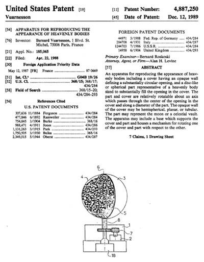 Galilea patent
