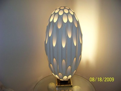 Ovoid Rougier lamp