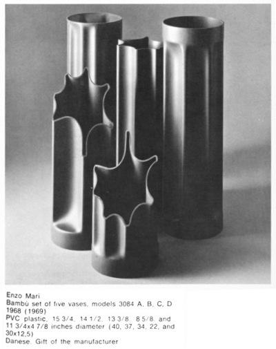 Bambu vases, original