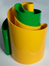 Deda vase yellow/green