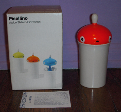 Orange Pisellino with box and insert