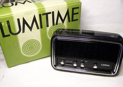 CC-11 Lumitime clock with box