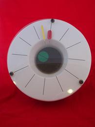 Nova clock, front