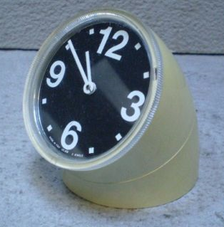 Original Cronotime clock, white