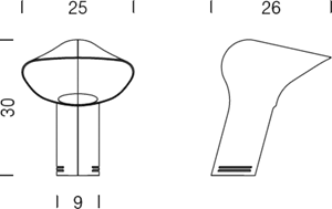 Sorella table lamp reissue schematics