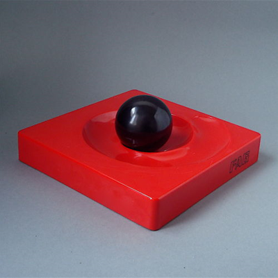 Spyros ashtray, red