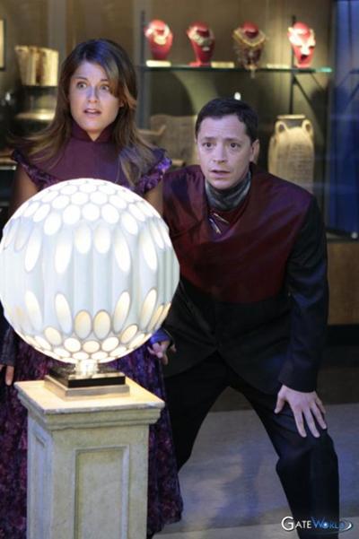 Rougier tube lamp from Stargate SG-1