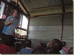 Suzanne in Uganda