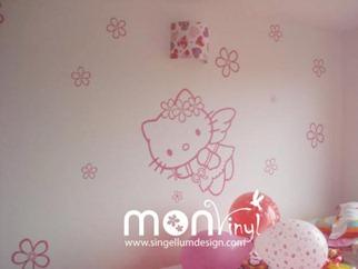 Decorar habitaciones infantilesin interiors design for Vinilos murales adhesivos