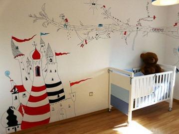 Decorar habitaciones infantilesin interiors design - Dibujos para decorar habitaciones de bebes ...