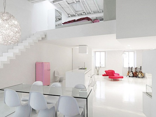minimalist-white-interior-loft-design-ideas