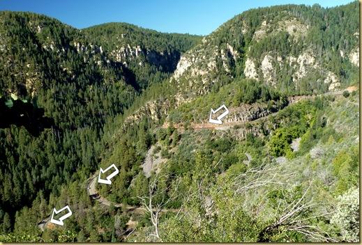 2010-09-23 - AZ, Flagstaff to Sedona via 89-A thru Oak Creek Canyon  (12)b