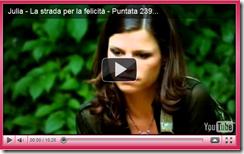 """Julia - La strada per la felicità"": puntata n°239"