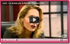 """Julia - La strada per la felicità"": puntata n°244"