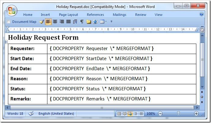 Inserting Sharepoint List Data Into A Pdf Document Using A Workflow