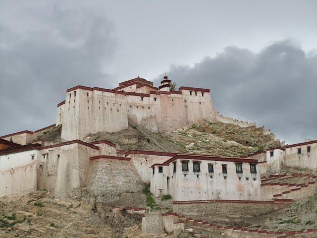 Gyantse hilltop view