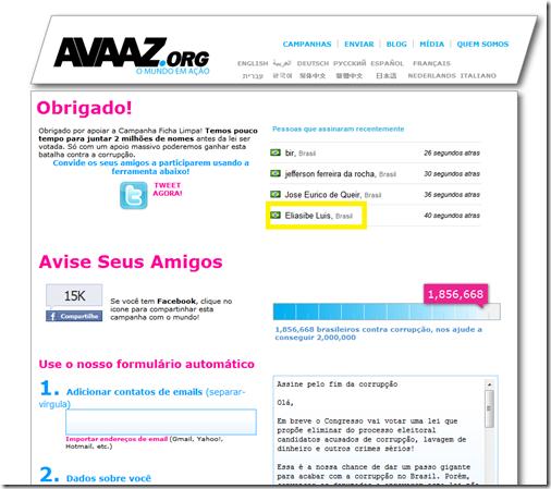 avaaz_ficha limpa