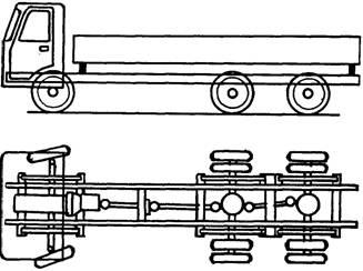 Rigid 6x4 truck