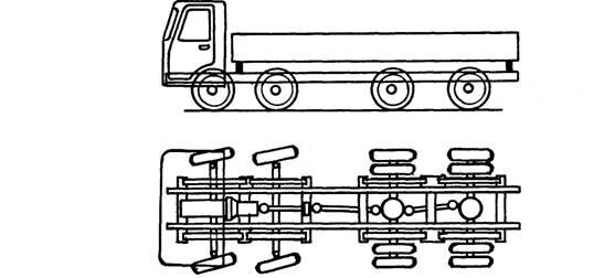 Rigid 8x4 truck
