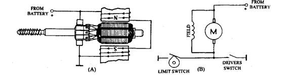... Windscreen Wipers and Washers (Automobile) on lucas fuel pump diagram, lucas headlight switch Wiper Motor Wiring ...