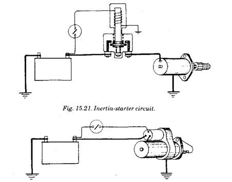pre engaged starter motor automobile rh what when how com starter motor wiring diagram pdf motor starter wiring diagram air compressor