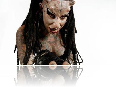 Mulher vampiro da Colombia