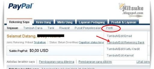 Cara daftar di PayPal dan verifikasi