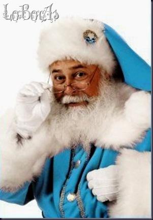 LoBocAs_!Papa Noel en celeste y blanco