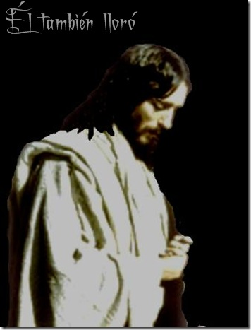 jesus llora por J