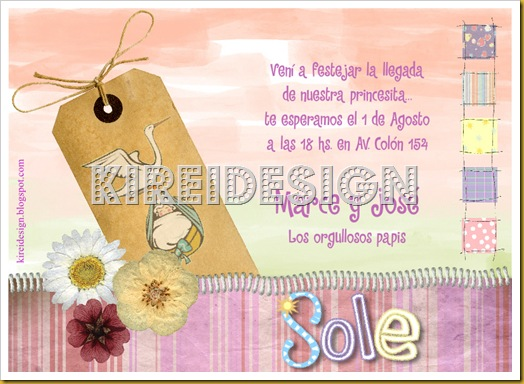 invitaciones y frases para baby shower